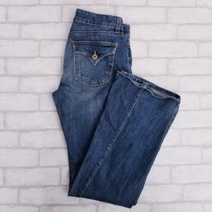 GAP Curvy Flare Jeans Medium Wash 2